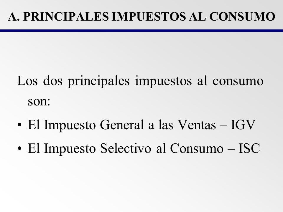 IMPUESTO GENERAL A LAS VENTAS (IGV) 1.