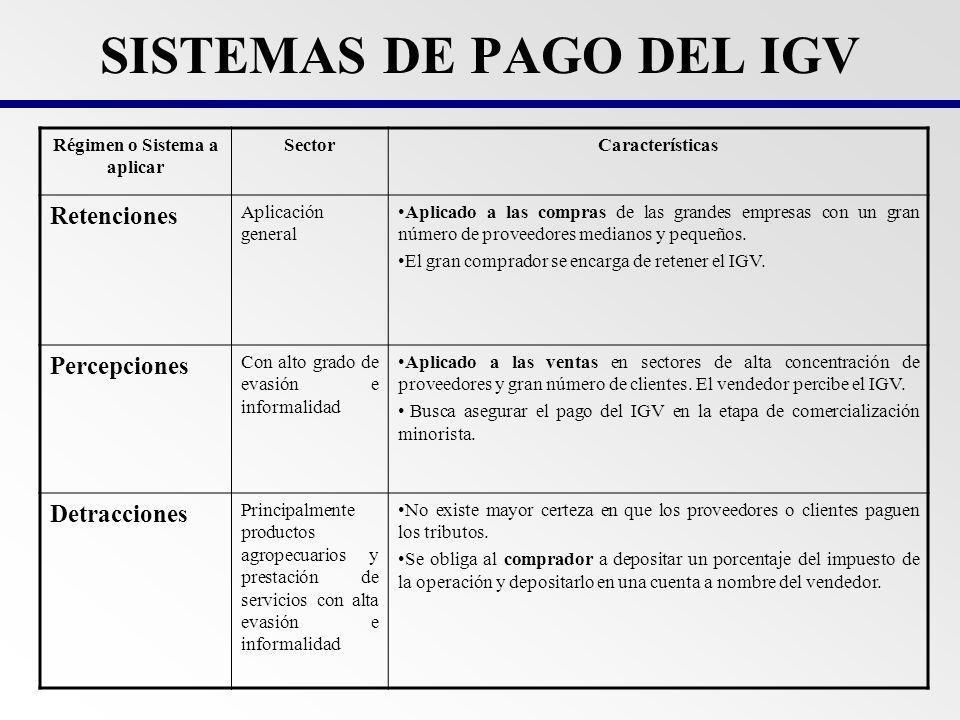 Objetivo Asegurar e incrementar la recaudaci ó n del IGV de los medianos y peque ñ os contribuyentes que son proveedores de grandes empresas.