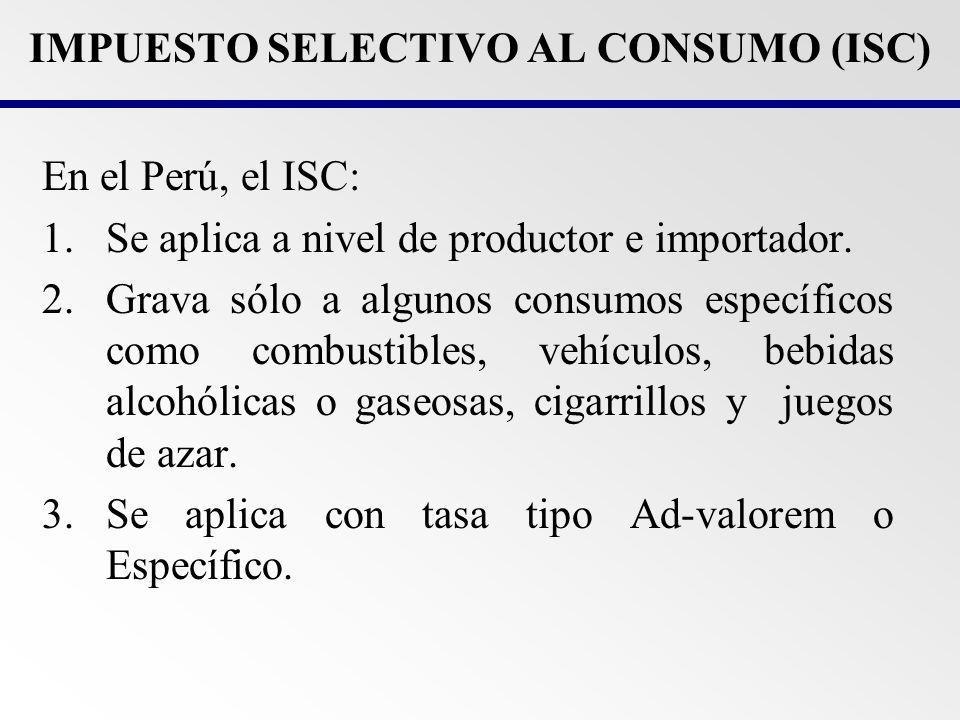 Sistema al Valor: - Tasa de 0%: Vehículos usados reacondicionados o reparados en CETICOS; vehículos para los miembros del cuerpo diplomático; vehículos para transporte de pasajeros (máximo 24 asientos).