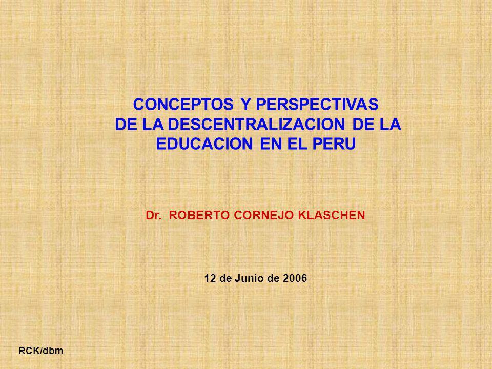 PRIMERA PARTE: CONCEPTOS BASICOS DE LA DESCENTRALIZACION TERCERA PARTE: SEGUNDA PARTE: PERSPECTIVAS DE LA DESCENTRALIZACION EDUCATIVA (Grupo técnico de trabajo) EL MODELO A DESARROLLAR PARA LA DESCENTRALIZACION EDUCATIVA CONTENIDO GENERAL 2