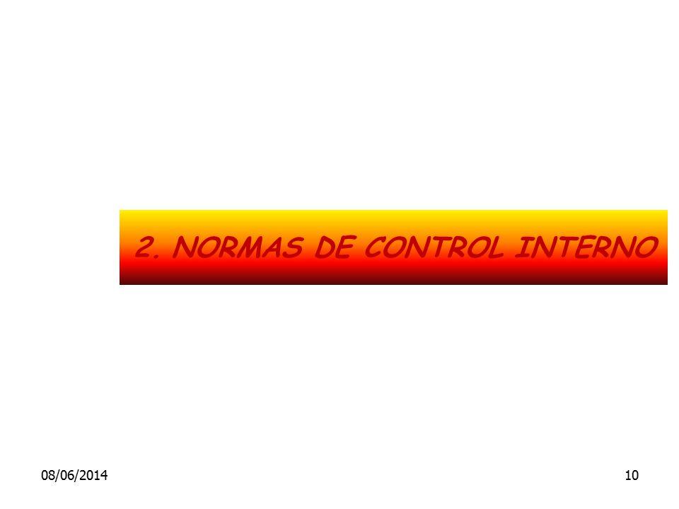 2.NORMAS DE CONTROL INTERNO 08/06/201410