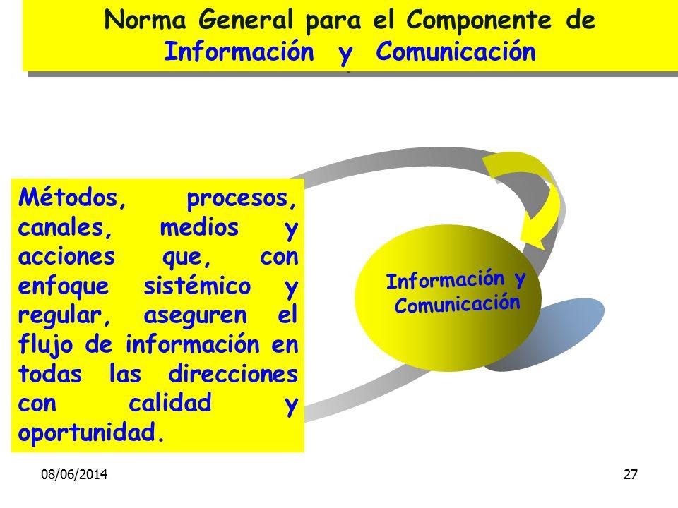 Métodos, procesos, canales, medios y acciones que, con enfoque sistémico y regular, aseguren el flujo de información en todas las direcciones con cali
