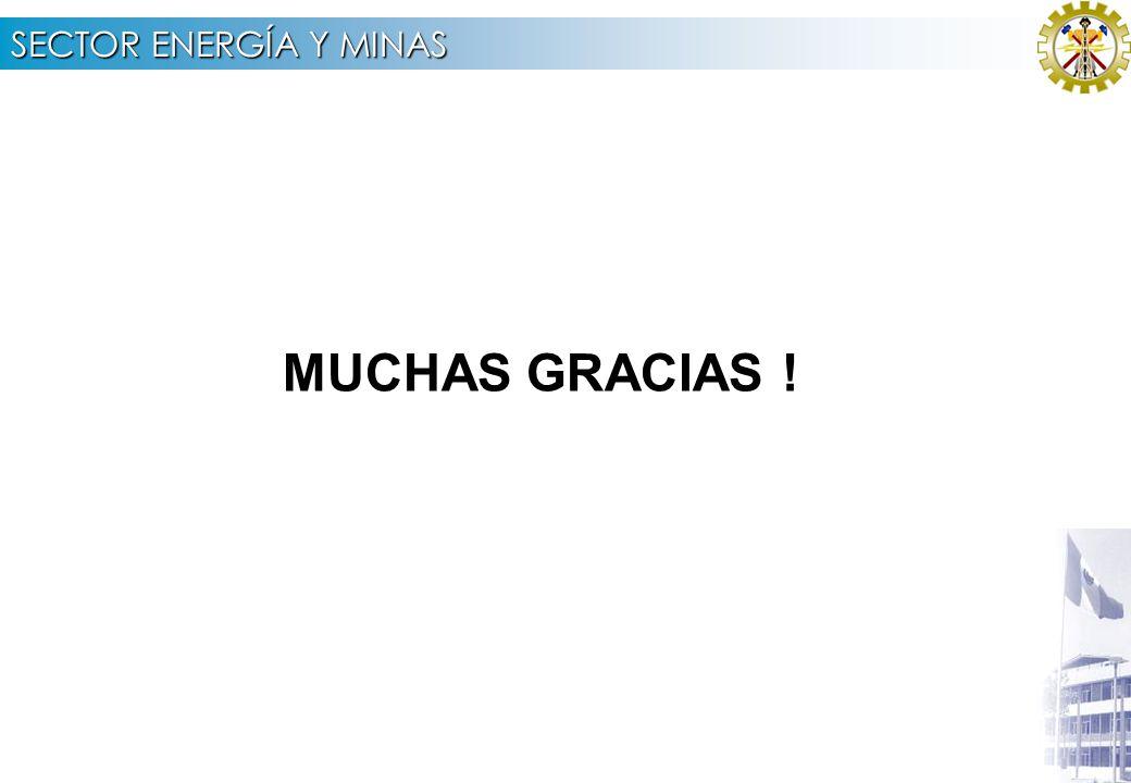SECTOR ENERGÍA Y MINAS 4.3 PRESUPUESTO INACC 2 007 POR TIPO DE GASTO (Nuevos Soles)