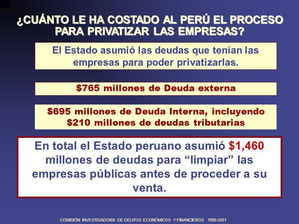 COMISIÓN INVESTIGADORA DE DELITOS ECONÓMICOS Y FINANCIEROS 1990-2001 ê Entre 1990-2001 se firmaron más de 600 Contratos de Estabilidad Jurídica y Tributaria con empresas inversionistas y receptoras de inversión.