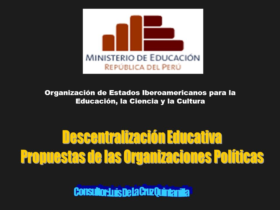 Sistema Educativo Avanza País, Con Fuerza Perú, Movimiento de Nueva Izquierda, Perú Ahora, Perú Posible y Renacimiento Andino proponen temas variados.