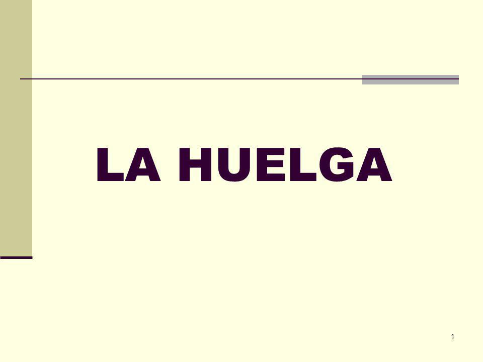 1 LA HUELGA