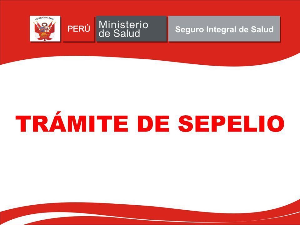 ¿En que situaciones no se reconoce el subsidio por Sepelio.