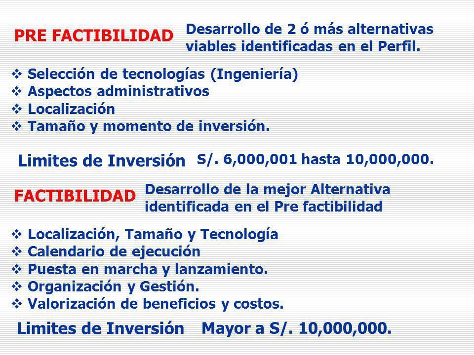 Estudios Definitivos o Expediente Técnico INVERSIÓN Ingeniería y Tamaño del Proyecto Especificaciones técnicas de la obra.