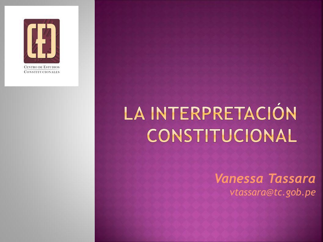 Vanessa Tassara vtassara@tc.gob.pe