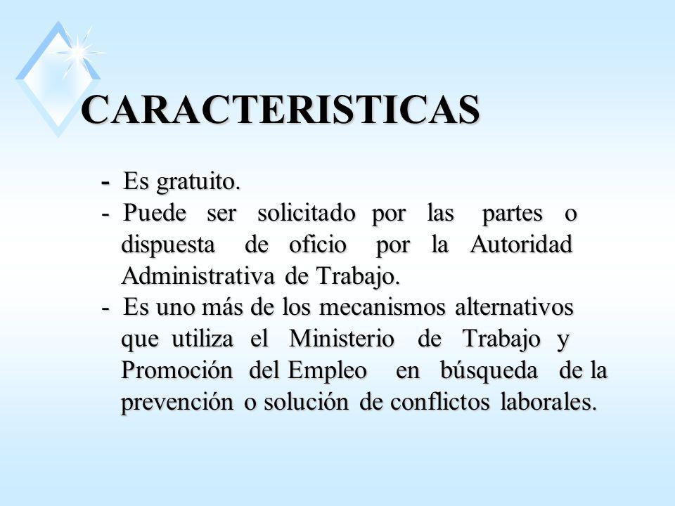 CARACTERISTICAS - Es gratuito.