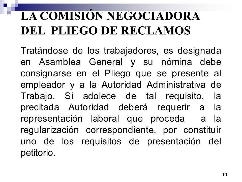 10 PROCEDIMIENTO DE NEGOCIACION COLECTIVA Se inicia con la presentación del pliego Negociación Directa Conciliación HUELGA ARBITRAJE