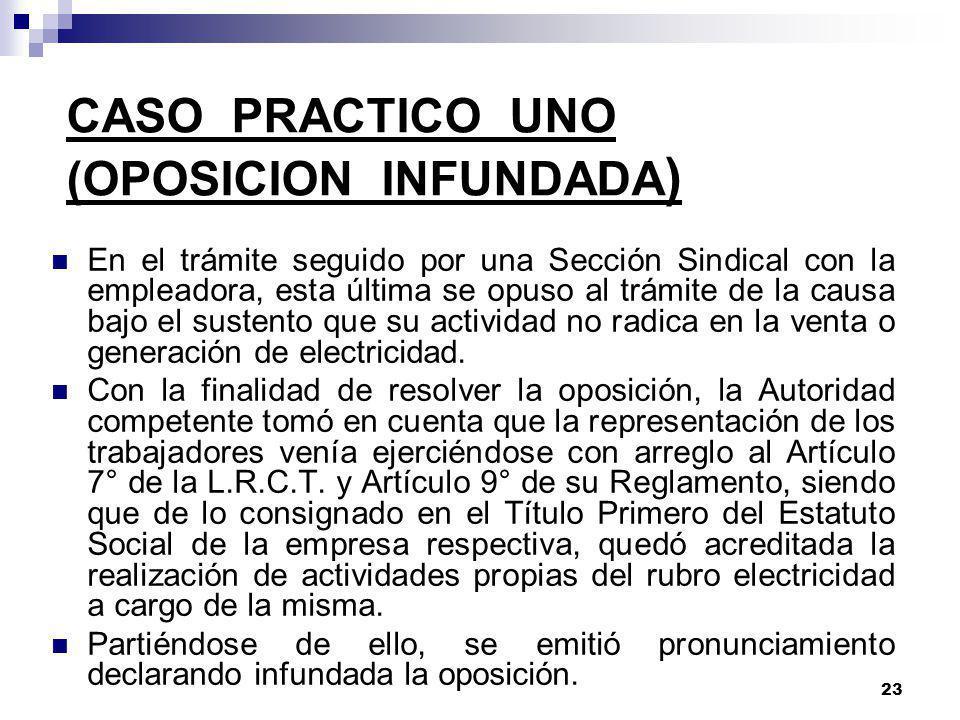 22 TRAMITE: En caso de interponerse recursos impugnatorios, la Sub-Dirección de Negociaciones Colectivas emite pronunciamiento en primera instancia. P