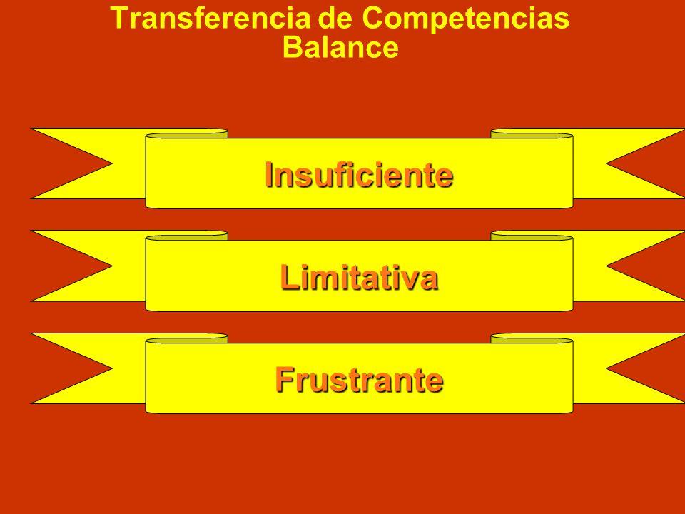 La transferencia se inicia … D. S. 021-2006-PCM Autoriza transferencia de funciones y facultades sólo a nivel regional Ley Bases Descentralización, Cu
