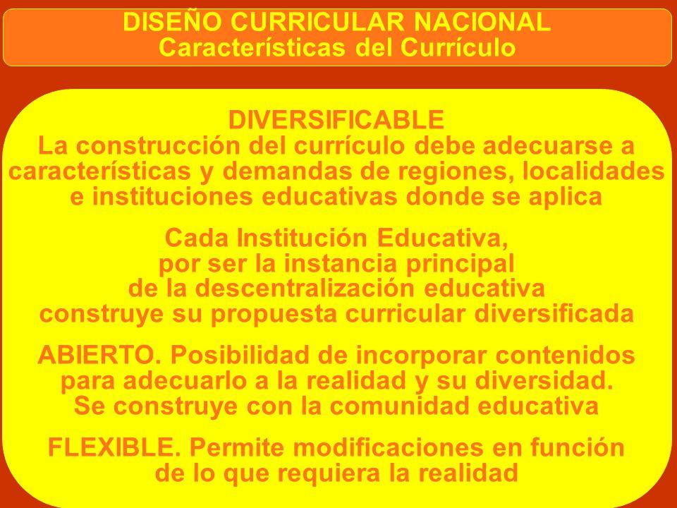 LEY GENERAL DE EDUCACIÓN Artículo 33 MED responsable de diseñar los currículos básicos nacionales. Currículos se diversifican en instancias Regional y