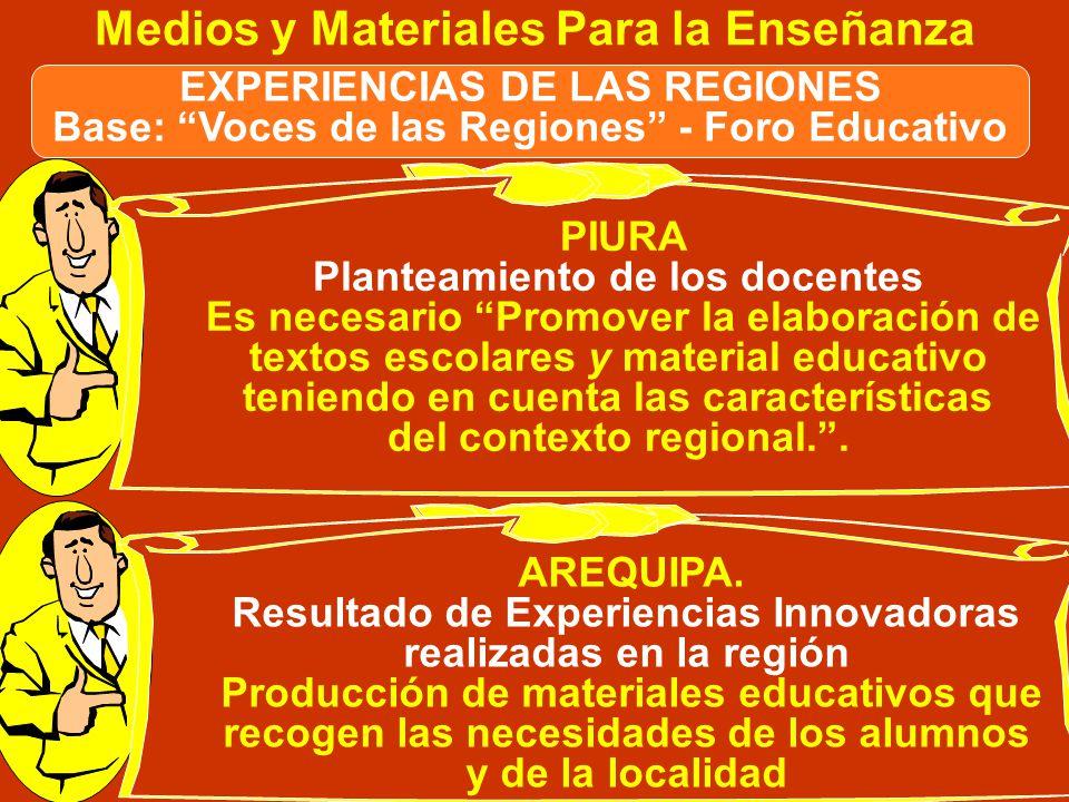 Mayo 2006. Entrevista con Directivos del MED NOTAS PLANTEAMIENTO ENCONTRADO En una primera etapa podría darse la diversificación de contenidos en func