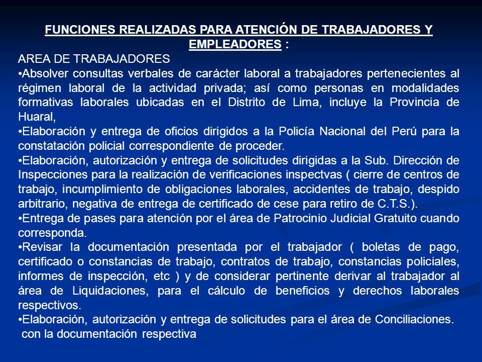 Requisitos para Atención de Trabajadores : (Oficina 111) 1.Obtener ticket de atención a partir de las 7am.