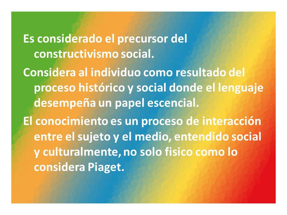 CONCEPTOS FUNDAMENTALES Vigotsky consideró cinco conceptos fundamentales: Funciones mentales: superiores e inferiores Habilidades psicológicas.