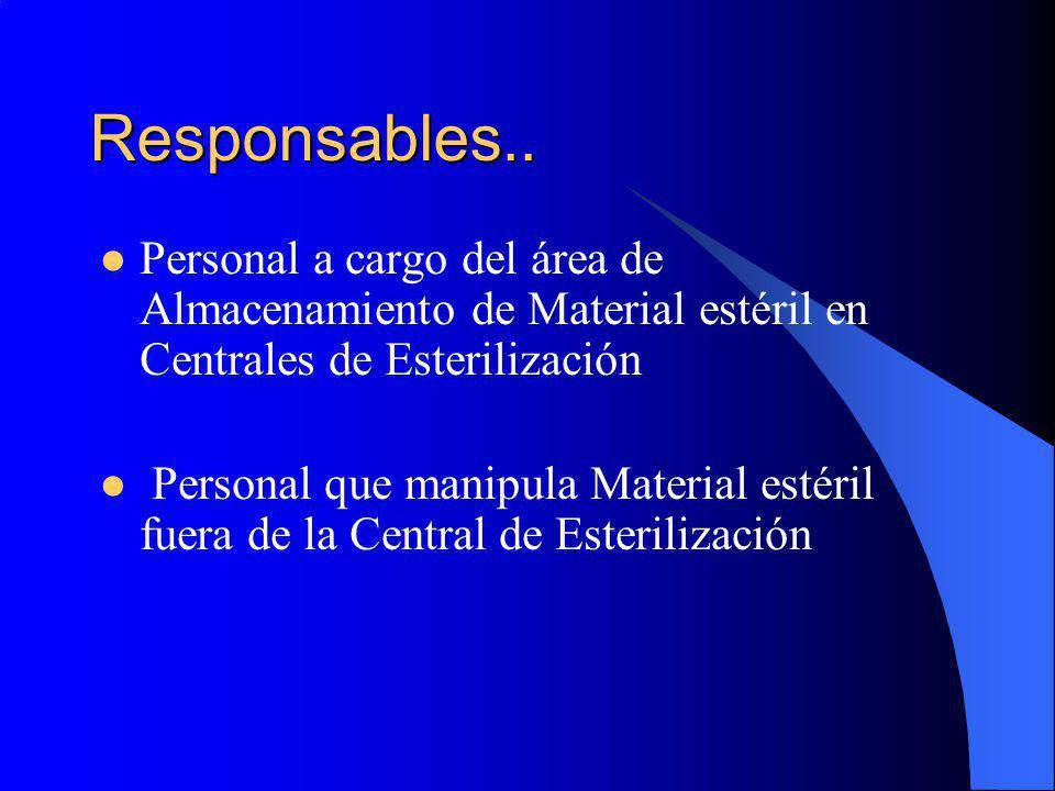 Responsables..