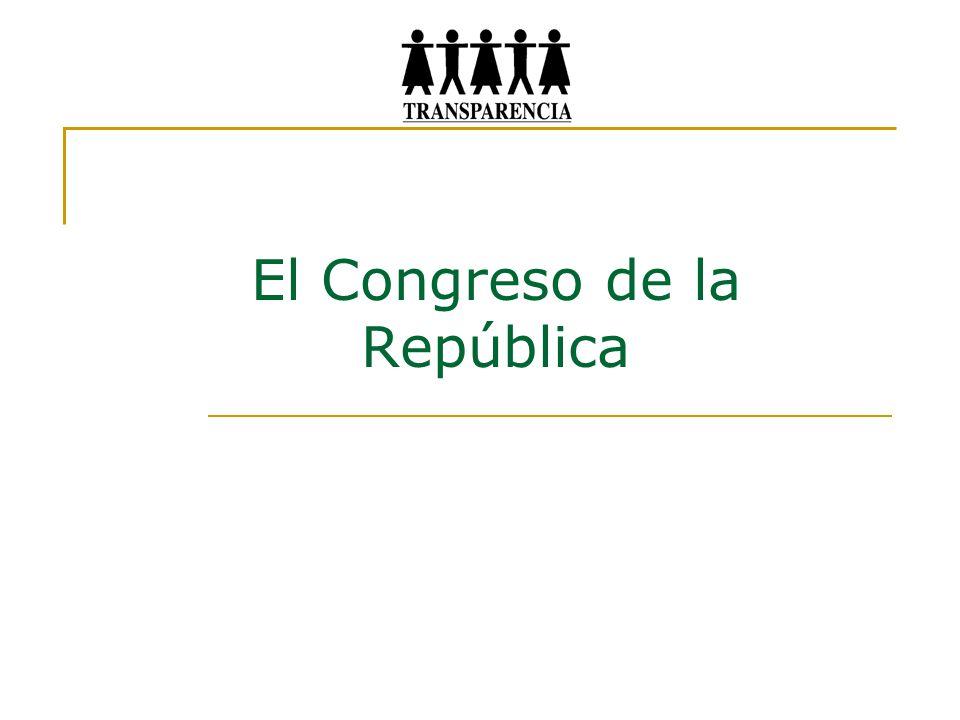 El Congreso de la República