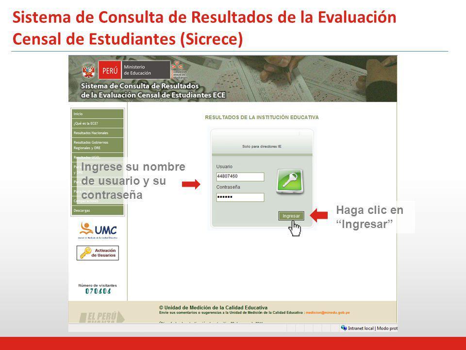 Rendimiento de las IIEE* que formaron parte del Programa de Acompañamiento (PELA) 2010 – 2Sistema 1 Sistema de Consulta de Resultados de la Evaluación