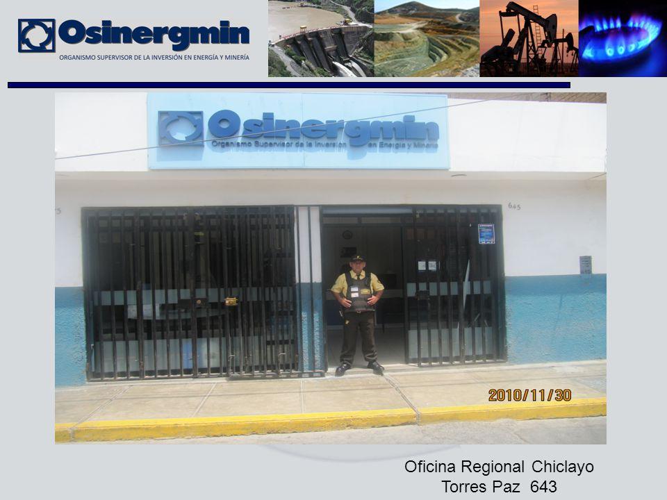 Oficina Regional Chiclayo Torres Paz 643