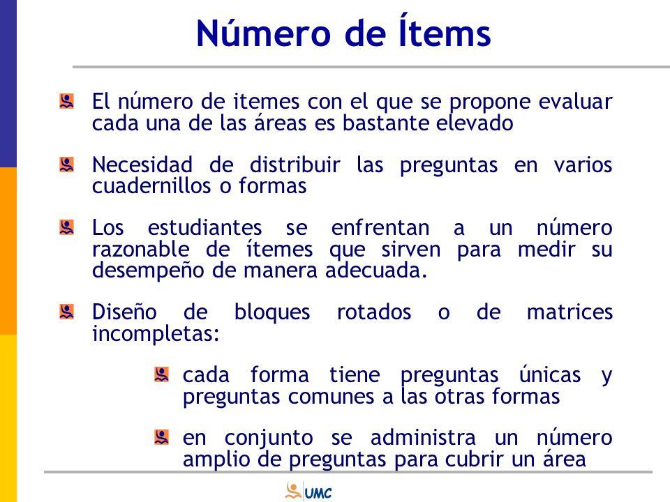 Formato de ítems Respuesta cerrada Selección de respuesta Respuesta abierta Producción de Respuesta Emparejamiento Opción Múltiple Verdadero / Falso (matemática) Respuesta corta Respuesta extendida Tabla de representación (matemática)