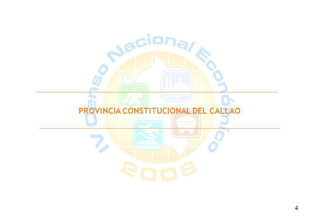 4 PROVINCIA CONSTITUCIONAL DEL CALLAO