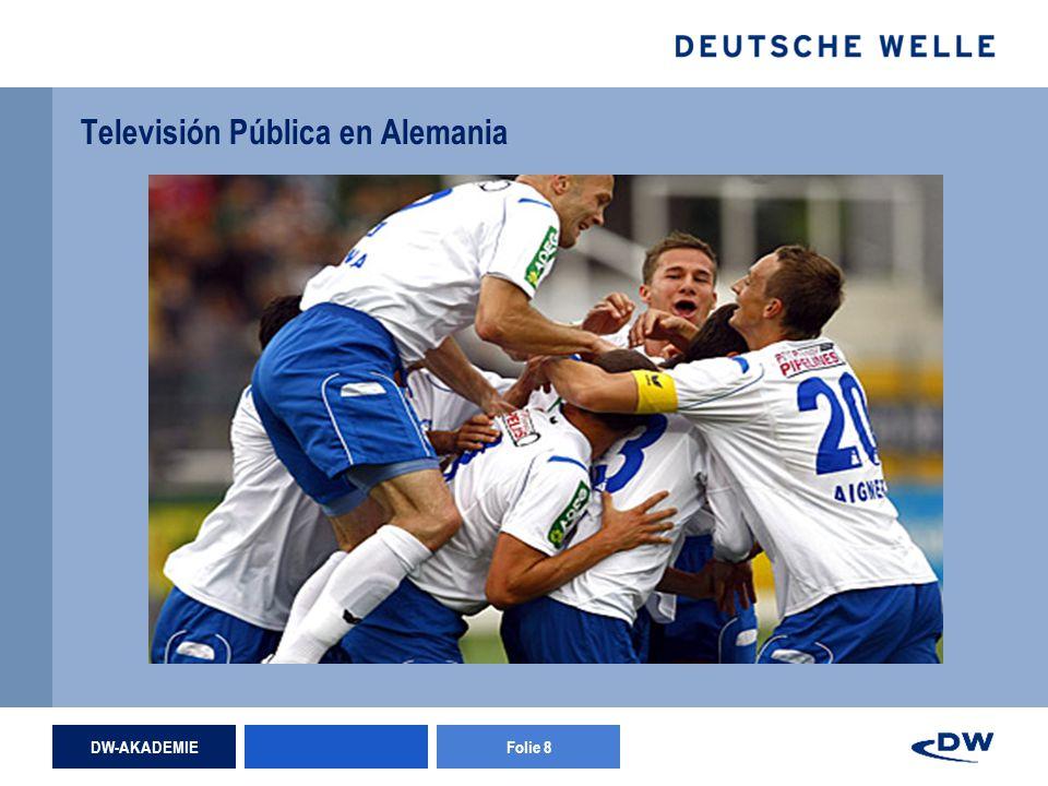 DW-AKADEMIEFolie 8 Televisión Pública en Alemania