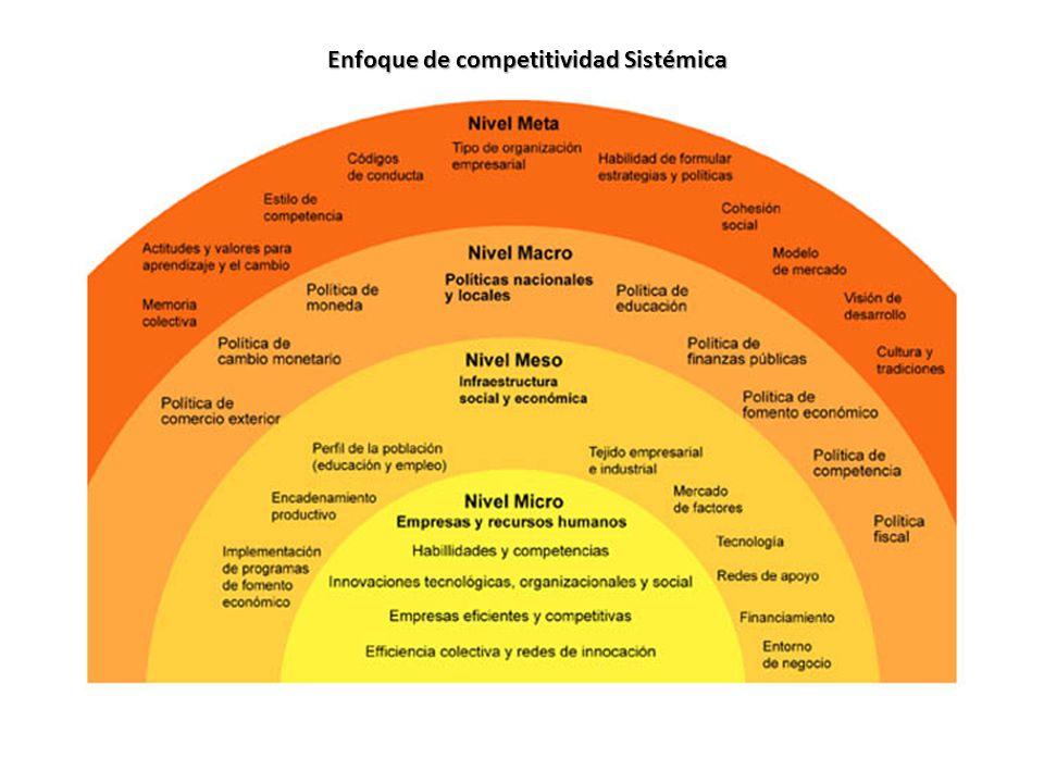 Enfoque de competitividad Sistémica