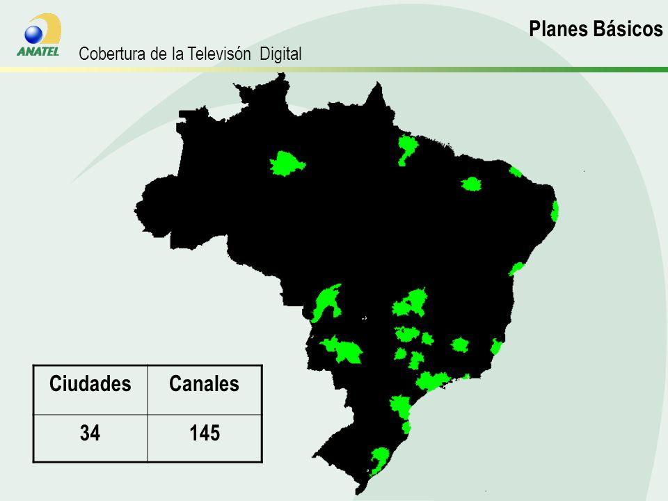 CiudadesCanales 34145 Planos Básicos Planes Básicos Cobertura de la Televisón Digital