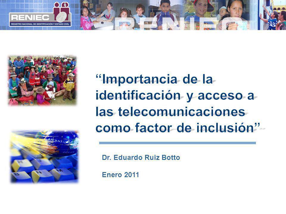 Dr. Eduardo Ruiz Botto Enero 2011