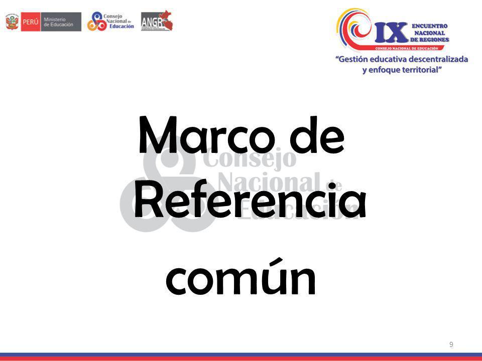 Marco de Referencia común 9
