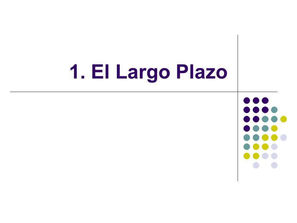 1. El Largo Plazo