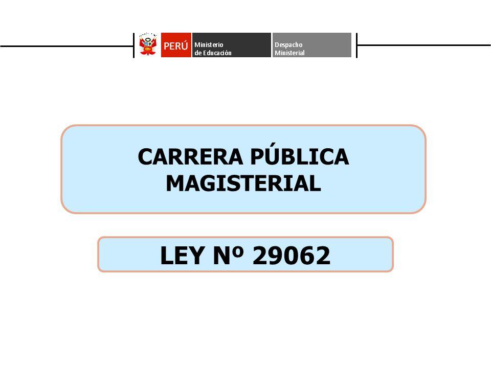 PARA PROFESORES CON TÍTULO PEDAGÓGICO NOMBRADOS SEGÚN EL RÉGIMEN DE LA LEY N° 24029, LEY DEL PROFESORADO MODIFICADA POR LEY N° 25212 (DEL II AL V NIVEL MAGISTERIAL) PROGRAMA DE INCORPORACIÓN