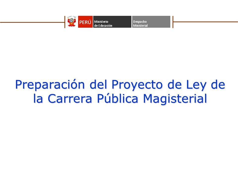 2 Leyes del Magisterio desde 1964 1964 1984 1990 2001 - 2007 1980 Ley Nº 15215, Ley del Estatuto y Escalafón del Magisterio Peruano Ley Nº 24029, Ley