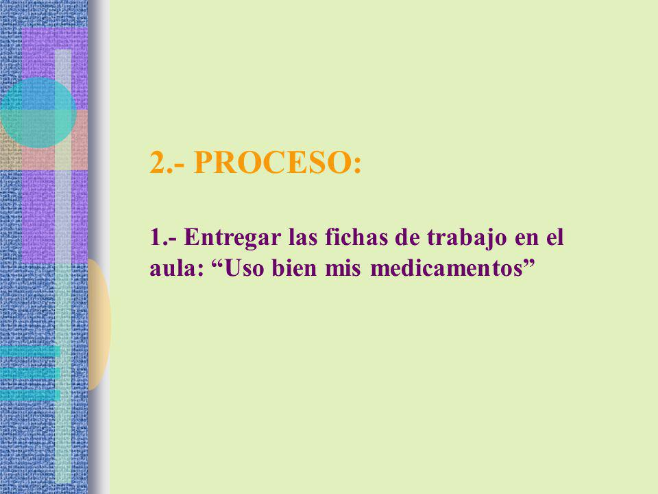 2.- SALIDA: Cada grupo elabora un díptico, relacionado con el tema.