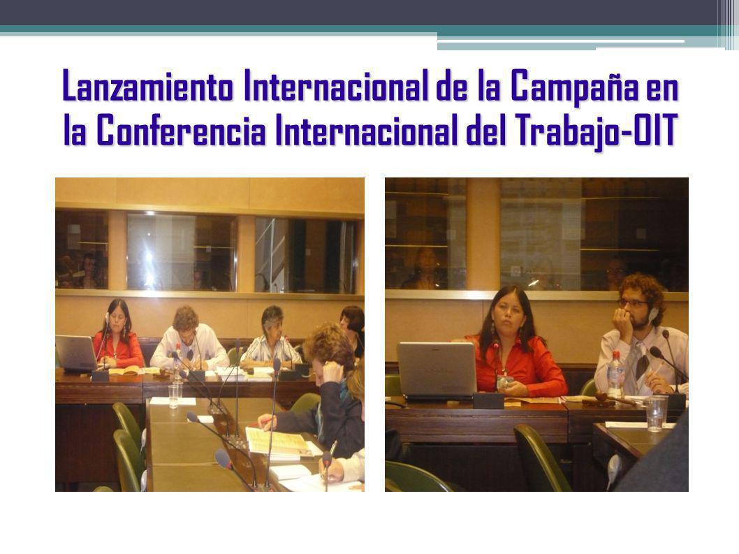 Lanzamiento de la Campaña Mujeres, vida y Derecho en Perú por la JOC PERU