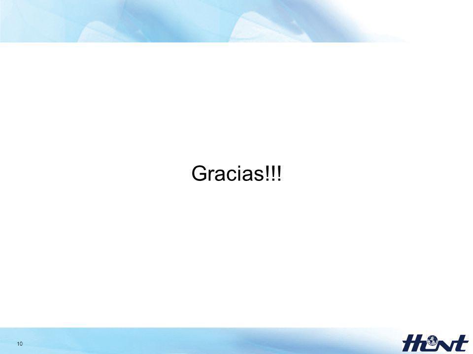 10 Gracias!!!