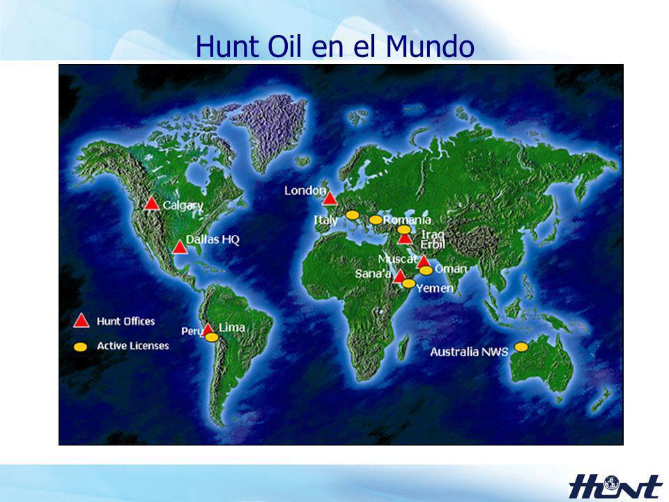 3 Valores Centrales de Hunt Oil Compromiso con la Excelencia Honestidad Integridad Respeto por la persona Trabajo en equipo Creatividad