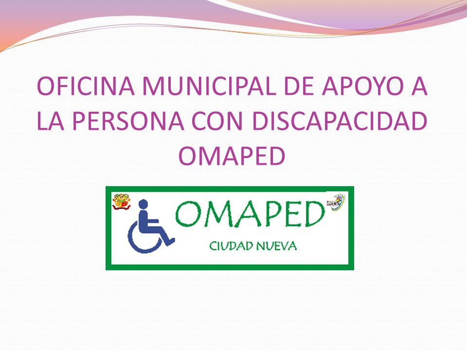 ¿Qué es la OMAPED.