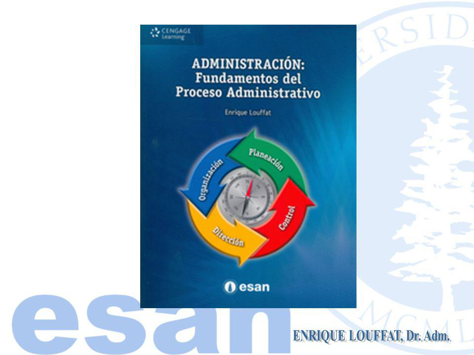 Áreas Administrativas Recursos Administrativos Proceso Administrativo Concepto de Administración ENRIQUE LOUFFAT, Dr.