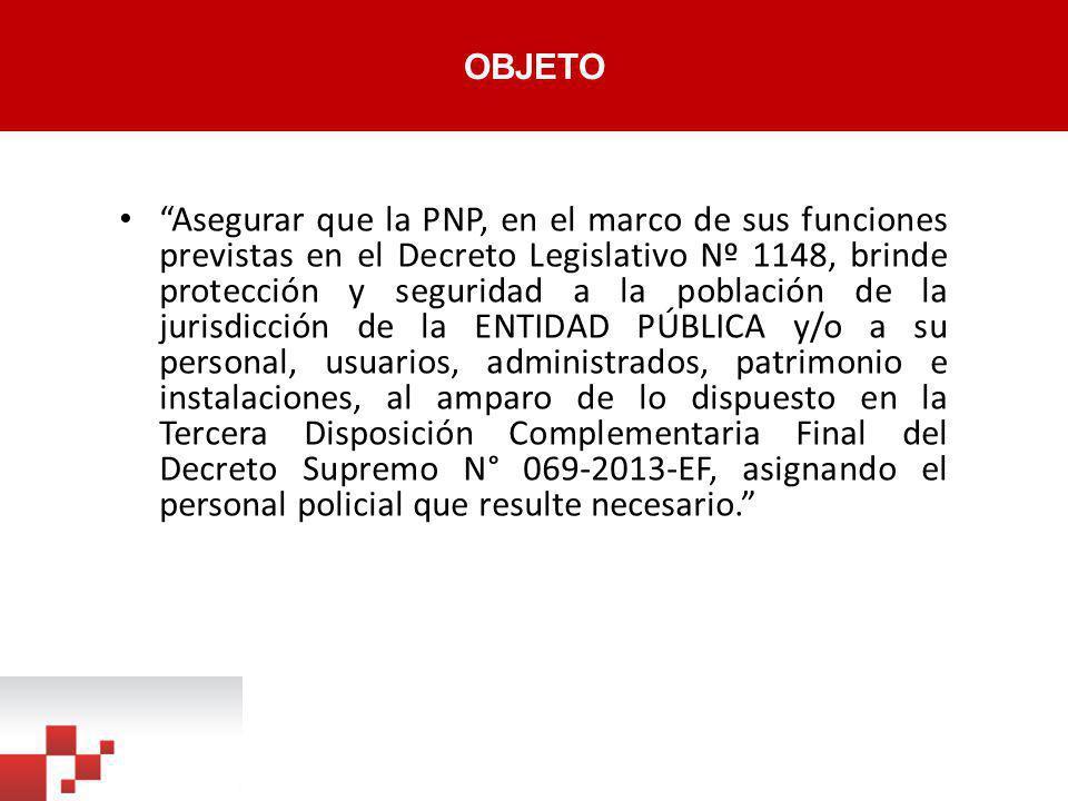 F2: MODELO DE CONVENIO DE COOPERACIÓN CONVENIO DE COOPERACIÓN INTERINSTITUCIONAL ENTRE EL _______________________ Y LA POLICÍA NACIONAL DEL PERÚ, CON INTERVENCIÓN DEL MINISTERIO DEL INTERIOR Conste por el presente documento, el Convenio de Cooperación Interinstitucional para asegurar las funciones de protección y seguridad previstas en el Decreto Legislativo N° 1148, en adelante el CONVENIO, que celebran de una parte, el _____________________________________, con R.U.C.
