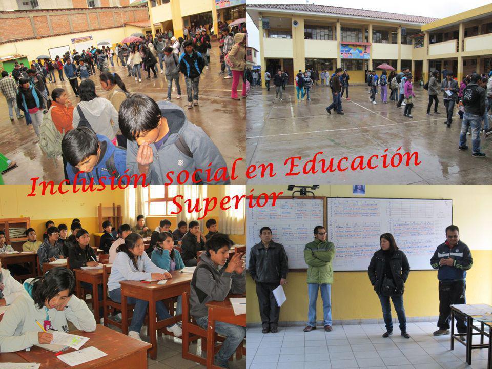 Liderando el Cambio Inclusión social en Educación Superior