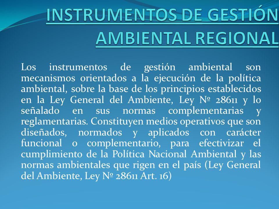 La Agenda Ambiental Regional o AAR, es un instrumento de planificación de la gestión ambiental regional de corto plazo.