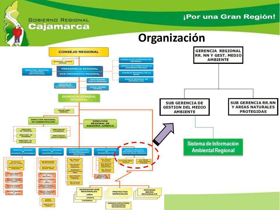 Organización Sistema de Información Ambiental Regional