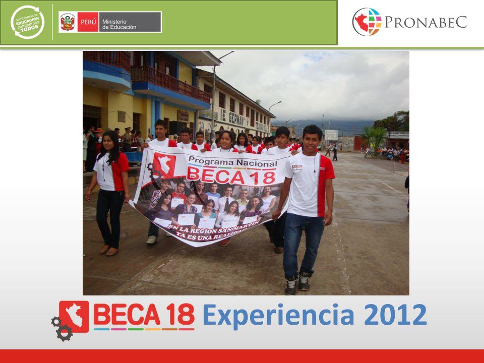 Experiencia 2012