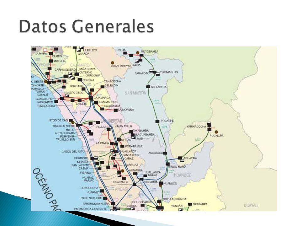 Características: L-2251 Longitud: 73,3 km Sección: ACSR 592mm2 Simple terna Ubicación: Selva L-2252 Longitud: 173,6 km Sección: ACSR 592mm2 Simple terna Ubicación: Selva (54,7 km) y Sierra (118,9 km)