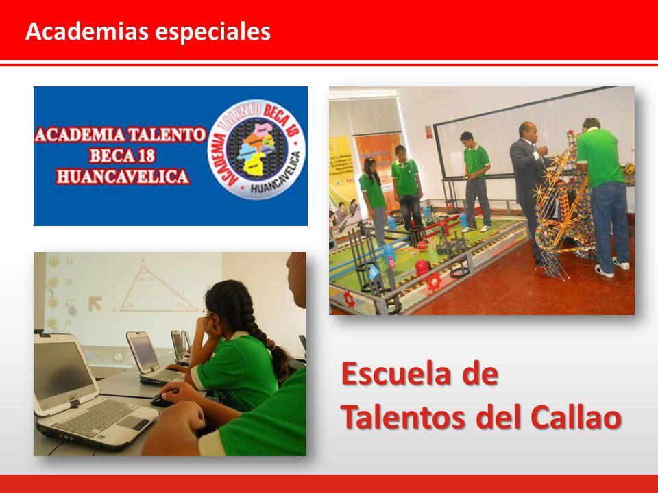 Academias especiales Escuela de Talentos del Callao