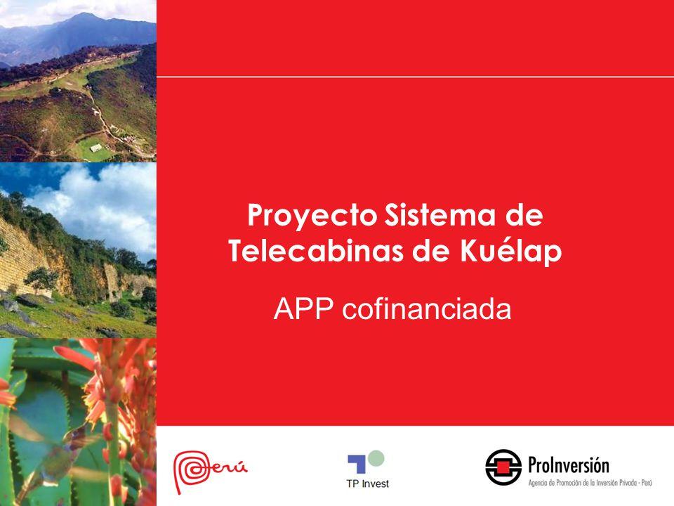 Proyecto Sistema de Telecabinas de Kuélap APP cofinanciada