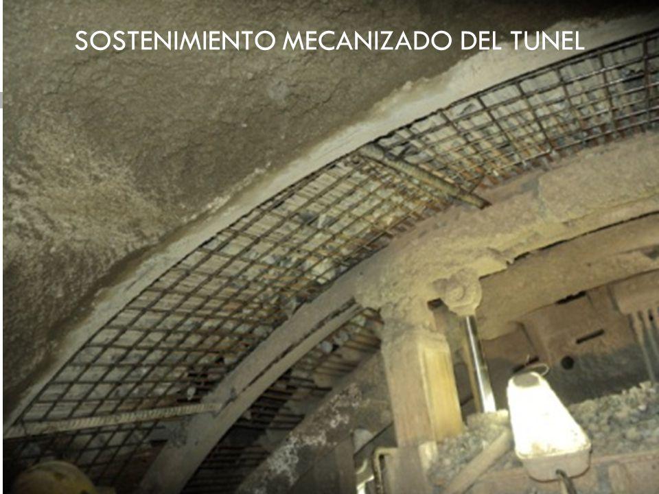 SOSTENIMIENTO MECANIZADO DEL TUNEL